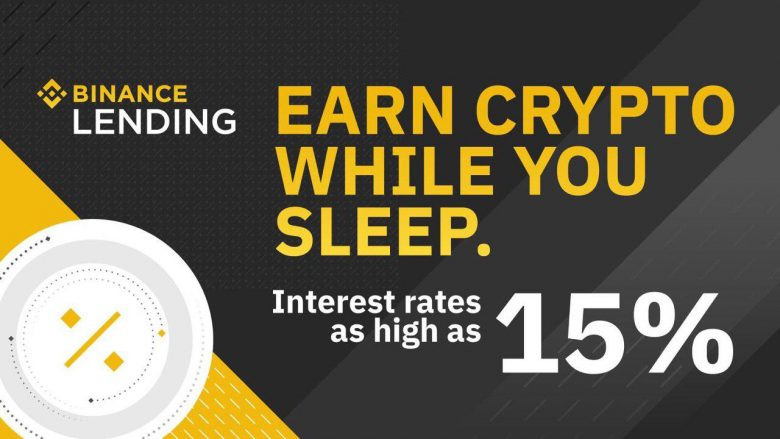 Binance Lending - kiếm lợi nhuận kể cả lúc bạn ngủ