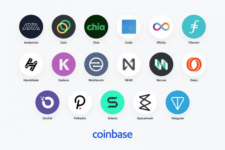 Coinbase tiếp tục thăm dò hỗ trợ cho các tài sản kỹ thuật số mới