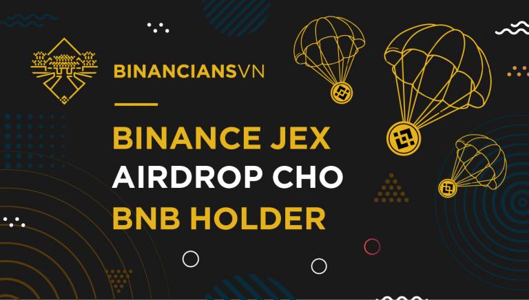 Binance JEX Airdrop cho BNB Hodler | Syndicator