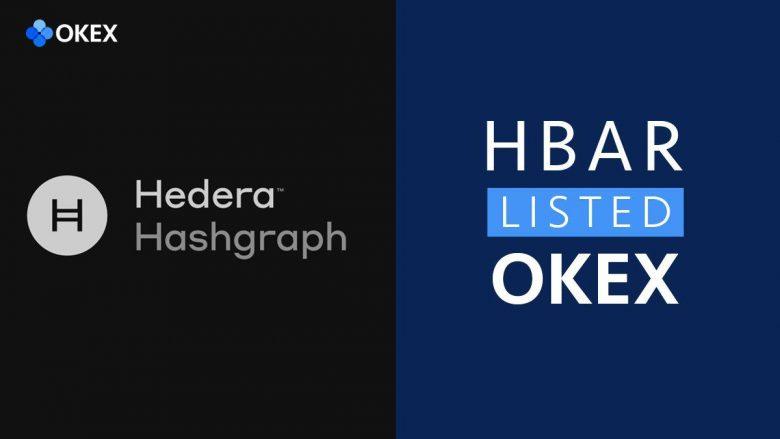 HBAR sẽ được niêm yết trên Okex