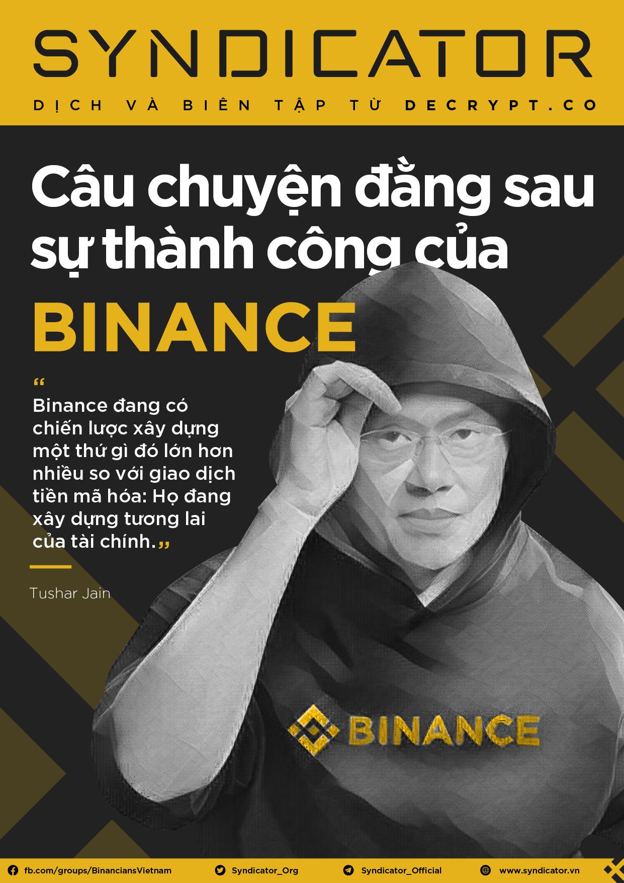 Câu chuyện đằng sau sự thành công của Binance