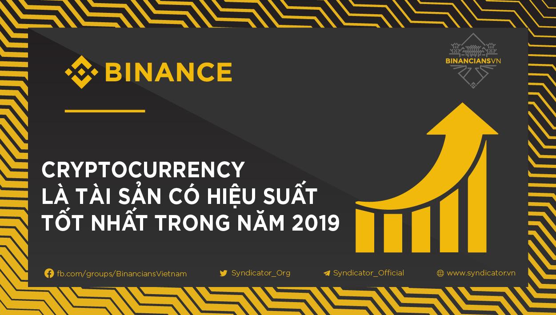 Cryptocurrency vẫn là tài sản có hiệu suất tốt nhất trong năm 2019 - Syndicator