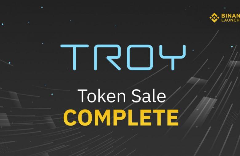 Binance công bố kết quả TROY Lottery và thông báo mở giao dịch