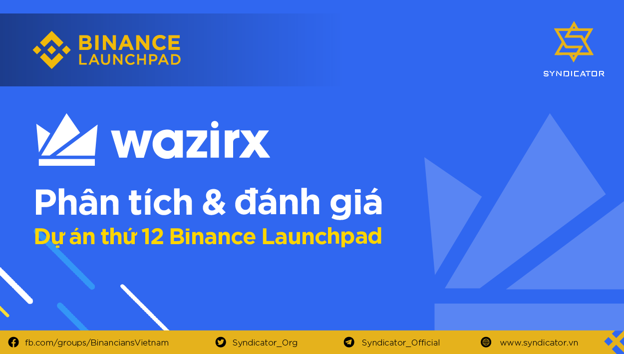 Binance LaunchPad – WazirX (India's Most Trusted Crypto Exchange)