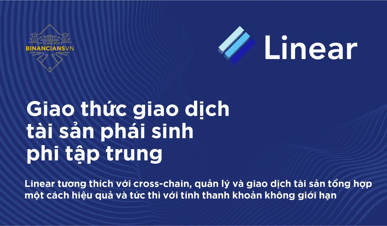 Linear Finance - Giao thức giao dịch tài sản phái sinh tổng hợp phi tập trung | Syndicator