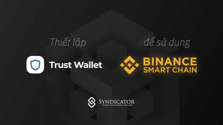 Hướng dẫn thiết lập và sử dụng Binance Smart Chain trên Trust Wallet - Syndicator
