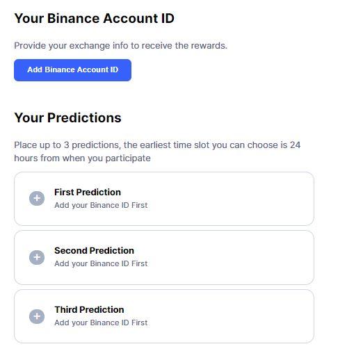 CoinMarketCap - Dự đoán giá Bitcoin và giành giải thưởng lên tới 10,000$ - hướng dẫn - Syndicator - coinmarketcap