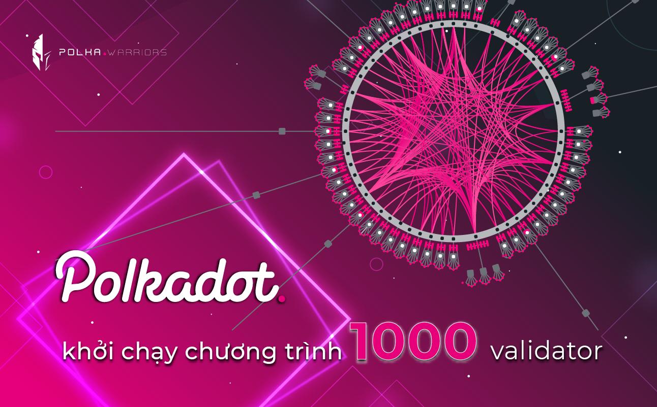 Tham gia chương trình 1000 validator trên Polkadot - Syndicator