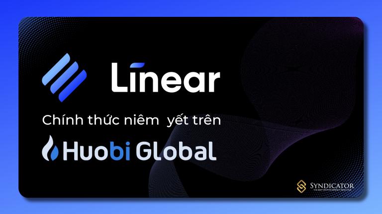 LINA (Linear Finance) chính thức niêm yết trên Houbi Global - Syndicator