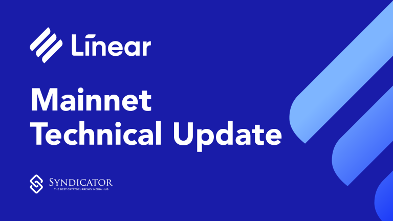 Linear Finance - Mainnet Technical Update - Syndicator