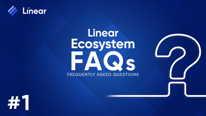 Linear Finance Ecosystem FAQs - syndicator - linear mainnet buildr