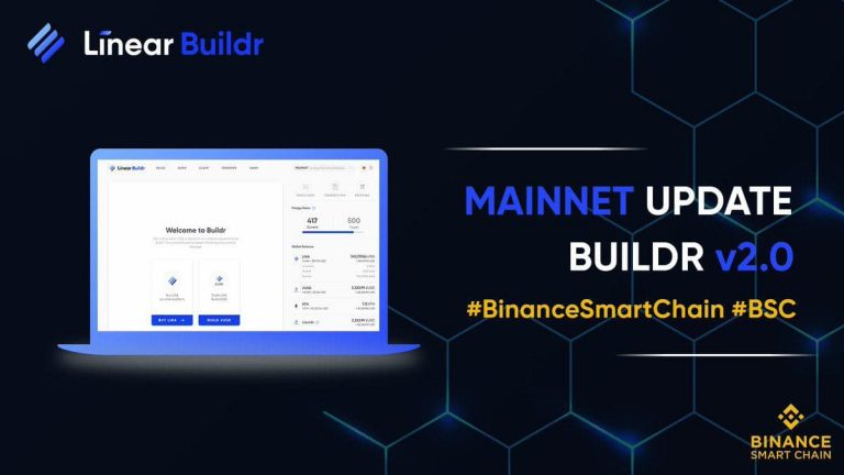 Linear Finance phát hành Mainnet Buildr v2.0 - binance smart chain - syndicator