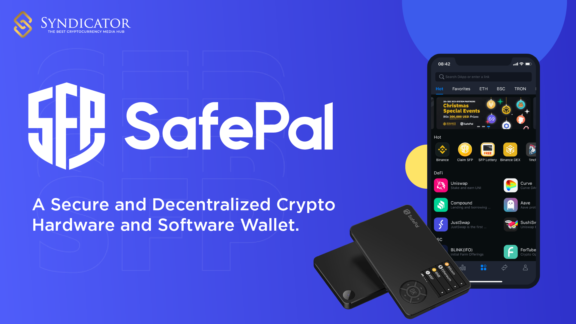 Binance LaunchPad - SafePal (SFP) - syndicator