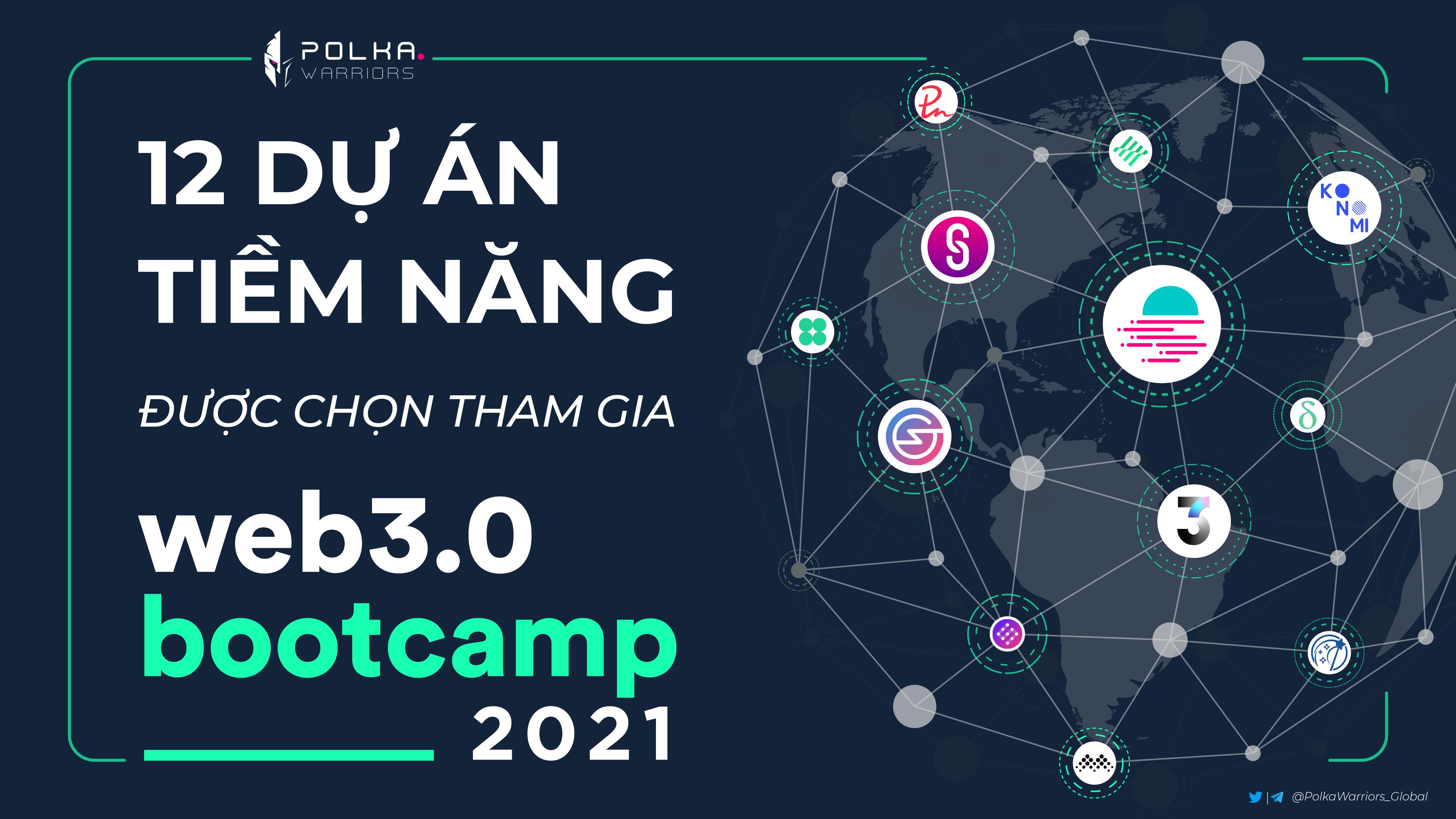 12 dự án tiềm năng được chọn tham gia Web 3.0 Bootcamp 2021 - Hệ sinh thái Polkadot - substrate - syndicator