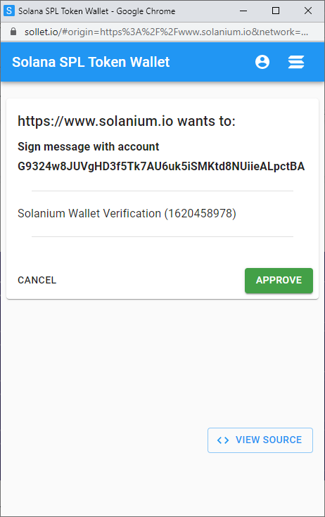 whitelist solanium - hệ sinh thái solana